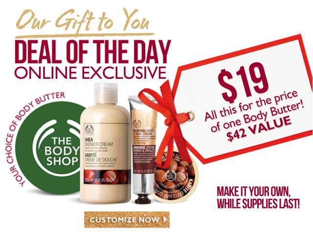 Our Gift to You - Deal of the Day