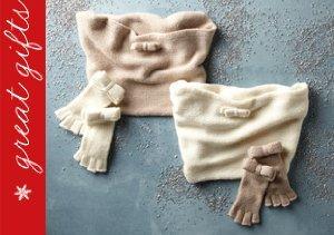 Bundle Up: Gloves, Scarves & More from Portolano