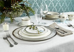Making Merry: Flatware, Tablecloths & More