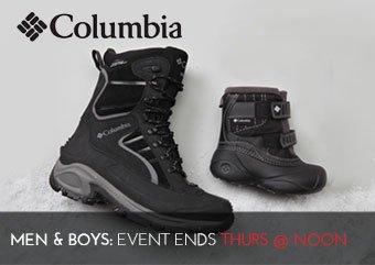 COLUMBIA SHOES - Mens Boys