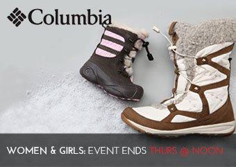 COLUMBIA SHOES - Women Girls