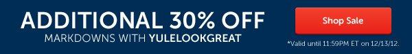 Additional 30% Off