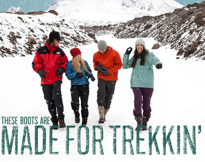 These Boots Are Made for Trekkin'