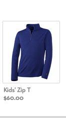 Kid's Zip T