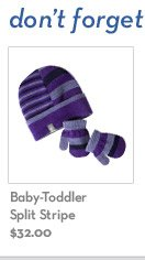 Baby-Toddler Split Stripe