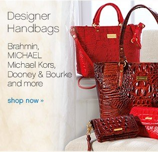 Designer handbags. Brahmin, MICHAEL Michael Kors, Dooney & Bourke and more. Shop now.