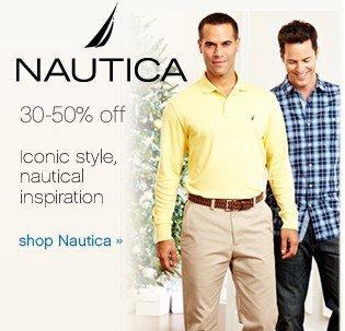 Nautical 30-50% off. Iconic style, nautical inspiration. Shop Nautica.