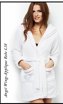 Angel Wings Applique Robe