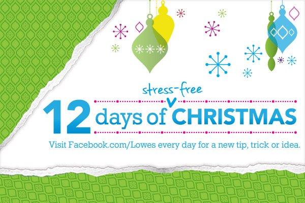 Twelve Days of Stress-Free Christmas