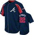 Jason Heyward Atlanta Braves Navy Double Play Jersey