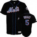 David Wright New York Mets Black #5 Youth Player Jersey