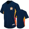 Houston Astros 2013 Authentic Collection Cool Base Navy Batting Practice Jersey