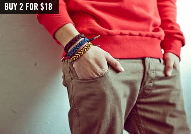 Shop Cloth Bracelets by RastaClat