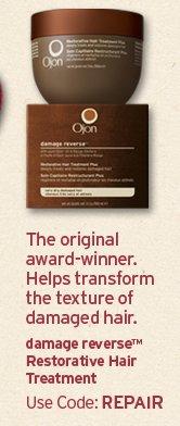 The  original award winner Helps transform the texture of damaged hair damage  reverse Restorative Hair Treatment