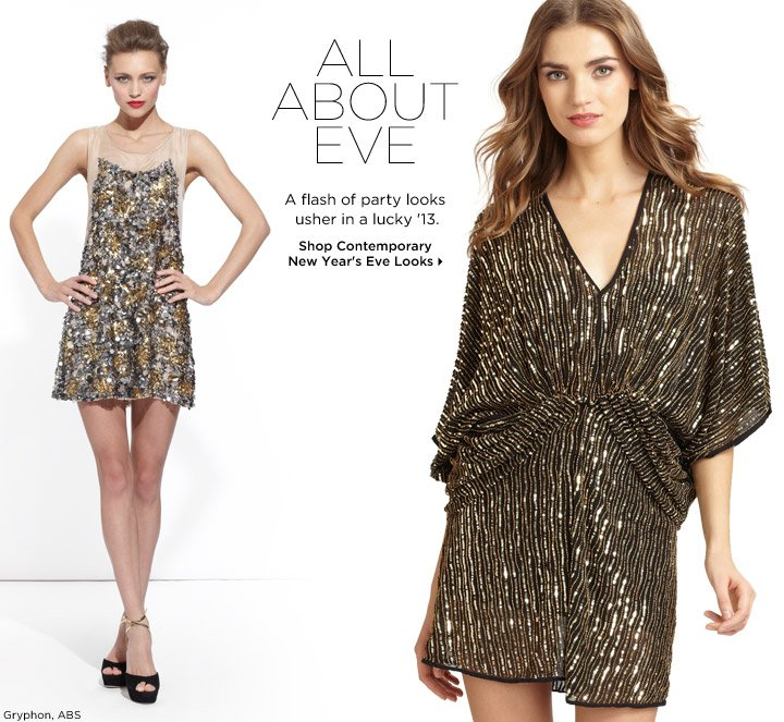 Shop Contemporary New Year's Eve Looks