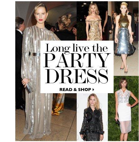 Long live the party dress READ & SHOP