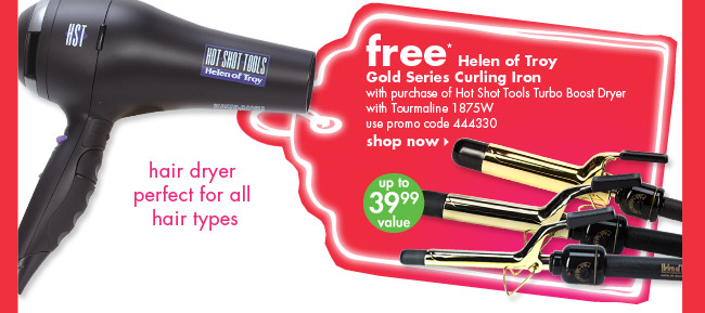 free* Helen of troy Gold Series Curling Iron