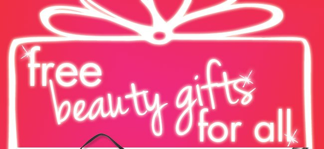 free beauty gifts for all