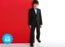 For Little Gents Ike Behar & hickey Boys' Suiting