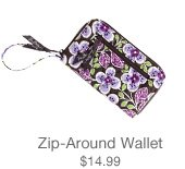 Zip-Around Wallet $14.99