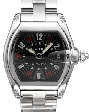 Cartier Roadster Stainless Steel Watch $3,299
