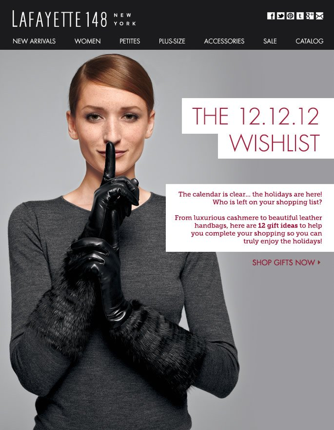 12 Great Gift Ideas for 12.12.12