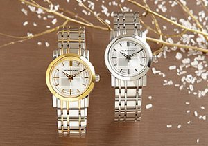 Classic Timepieces from Fossil, Emporio Armani & Burberry