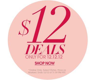 12 Under $12 - Shop Now
