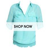 Smock Bottom Woven Shirt