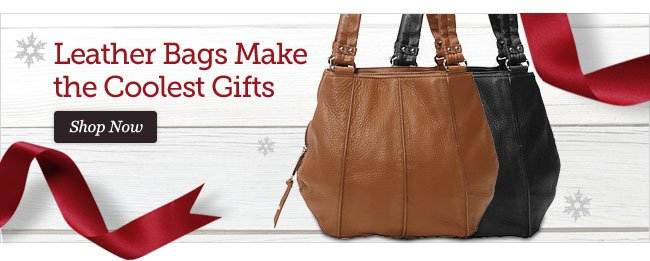 Leather Bags Make the Coolest Gifts