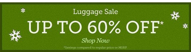 Luggage Sale