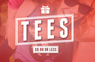 Tees: $9.99 or Less