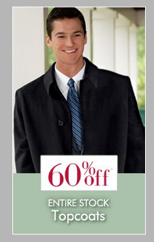 60% OFF* Topcoats