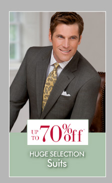Up To 70% OFF* Suits