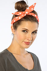 The Polka Dot Picnic Wire Headband