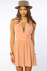 The Centerfold Dress