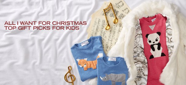 ALL I WANT FOR CHRISTMAS: TOP GIFT PICKS FOR KIDS, Event Ends December 15, 9:00 AM PT >