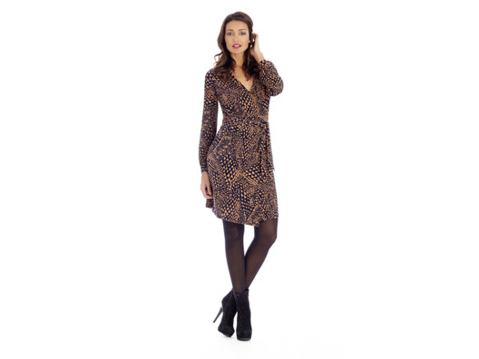 Wrap dresses are flattering, easy-to-wear, and stylish all at once--not an easy fashion feat!