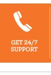 Get 24/7 support