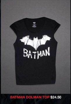 BATMAN DOLMAN TOP