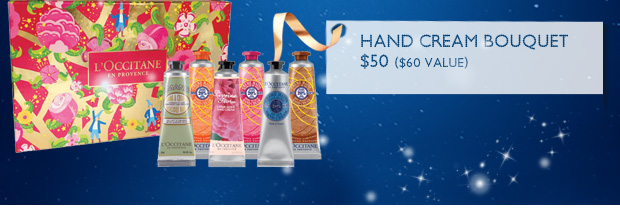 Hand Cream Bouquet $60.00 $50.00