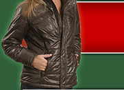 Woman in Coat Image