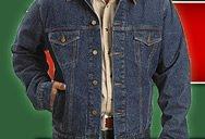 Man in Denim Jacket