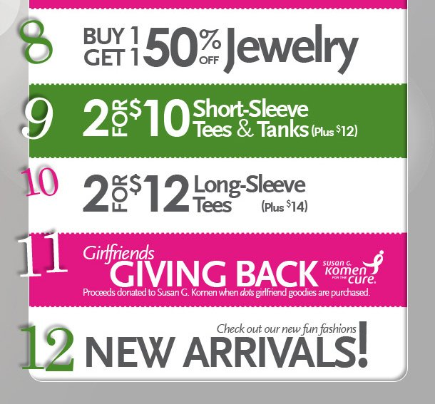 12 Holly Jolly Reasons to Shop Dots on 12.12.12