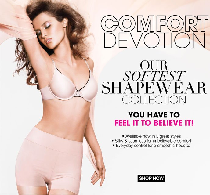 Comfort Devotion: Our Softest Shapewear Collection. You Have to Feel It to Believe It!