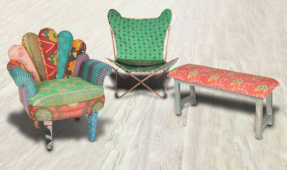 Boho One-of-a-Kind Chairs - Visit Event