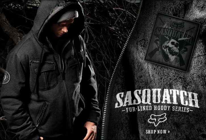 Sasquatch Fur-Lined Hoody Series