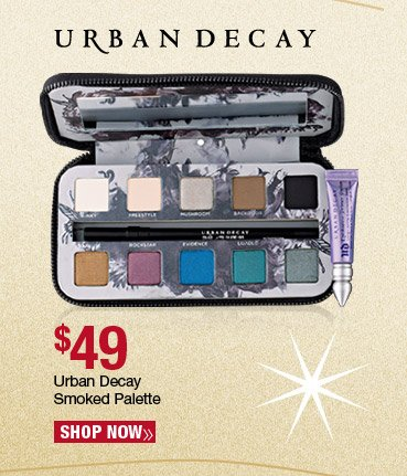 Urban Decay Smoked Palette - $49. Shop Now.