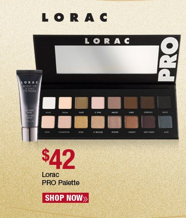 Lorac Pro Palette - $42. Shop Now