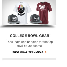 COLLEGE BOWL GEAR | Tees, hates and hoodies for the top bowl-bound teams. | SHOP BOWL TEAM GEAR